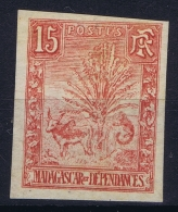 Madagascar: Yv Nr 68 Non Dentelé   MH/* Falz/ Charniere  1903  Signed/ Signé/signiert S - Madagascar (1889-1960)