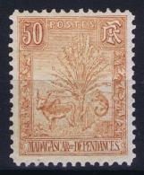 Madagascar: Yv Nr 73   MH/* Falz/ Charniere  1903 - Madagascar (1889-1960)