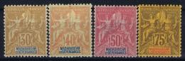 Madagascar: Yv Nr 36 - 39    MH/* Falz/ Charniere  1896 - Madagascar (1889-1960)