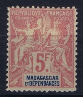 Madagascar: Yv Nr 42 MH/* Falz/ Charniere  1869 - Madagascar (1889-1960)