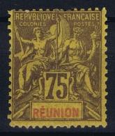 Reunion Yv Nr 43 MH/* Falz/ Charniere - Réunion (1852-1975)