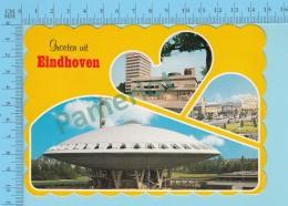 Eindhoven Holland - Groeten Uit Eindhoven Multi-view, Used In 1998 - 2 Scans - Pays-Bas