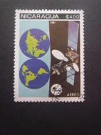 Nicaragua Poste Aérienne N°970 SATELLITE Oblitéré