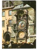Czech Republic  - Prag - Prague - Praha - Tower Clock - 4x Nice Stamps - Czech Republic
