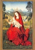 PEINTURE   ESCUELA DE MEMLING  NOTRE DAME DU BEAU PAYS  CATEDRAL DE BURGOS - Paintings