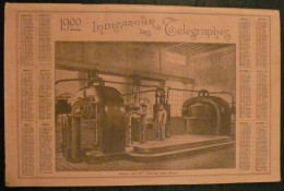 Indicateur Des Telegraphes - 1922 - 96 Pages - Frais De Port 2.50 Euros - Letteratura