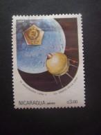 Nicaragua Poste Aérienne N°1059 LUNA II Oblitéré