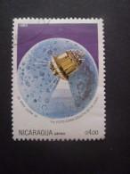 Nicaragua Poste Aérienne N°1060 LUNA III Oblitéré