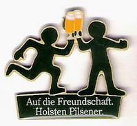 Pin HOLSTEN Pilsner - Auf Die Freundschaft - Bierpins