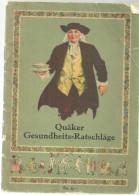 Livre Brochure Quaker Gesundheits Ratschlage Conseils De Santé - Livres, BD, Revues