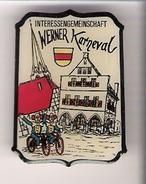 Ansteckbrosche Interessengemeinschaft WERNER KARNEVAL - Fasching & Karneval