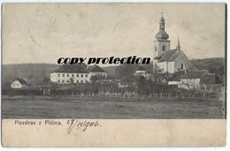 Pozdrav Z Picina, Picin, Dopisnice 1906 - Tchéquie