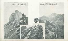 DENT De JAMAN - ROCHERS De NAYE - VD Waadt