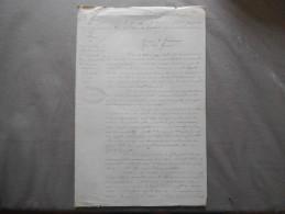MINISTERE DE LA GUERRE ETAT MAJOR GENERAL DE PARIS ET DE LYON 4e BUREAU COURRIER PARIS LE 4 JANVIER 1881 - Documents