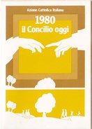 AZIONE CATTOLICA ITALIANA  /  Tessera 1980 - Documenti Storici