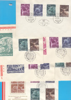 AUSTRIA 1959, FDC HUNTING KONGRES, CPL SET ON 6 COVERS, VARIATIONS, Mi: 1062 - 1965, ANIMALS, HUNTING , See Scans - FDC