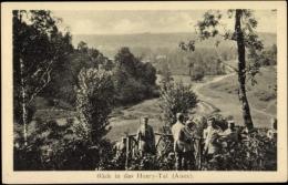 Cp Honry Tal Im Departement Aisne, Blick Ins Tal, Soldaten - Autres Communes