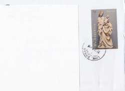 ÖSTERREICH Brief 201?, 70 C (Sondermarke Weihnachten) Auf Brief - 2011-... Cartas