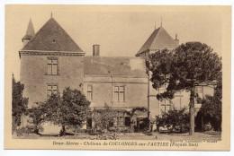 COULONGES SUR L'AUTIZE--Le Chateau (Façade Sud)  éd Lavadoux - Coulonges-sur-l'Autize