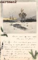 ILLUSTRATEUR HEINRICH WERTHEIM ART NOVEAU VIENNOISE PAYSAGE ILLUSTRATOR 1900 - Künstlerkarten