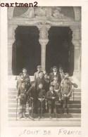 CARTE PHOTO LES ECLAIREURS DE FRANCE BOY-SCOUTS SCOUTISME SCOUT ECLAIREUR - Scoutisme
