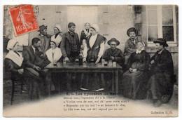 NOCES--Les Epouseux Du Berry (folklore,noce,costumes,coiffes,très Animée) N° 6  Collec G.G--région Centre - Noces