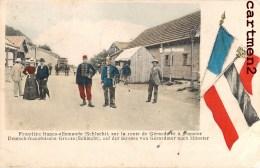 FRONTIERE FRANCO-ALLEMANDE LA SCHLUCHT ROUTE GERARDMER A MUNSTER GRENZE GUERRE DOUANIER 88 VOSGES - France