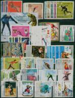 WINTER OLYMPIC GAMES / GRENOBLE 68 / SAPPORO 72 / INNSBRUCK 76 / LAKE PLACID 80 / SARAJEVO 84 / CALGARY 88 / ALBERTVILLE - Ohne Zuordnung