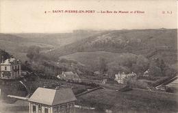 CPA Fécamp Saint Pierre En Port Les Bois Du Manoir Et D'Elitot N° 4 J.L. - Fécamp