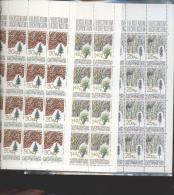Liechtenstein ** 913-915 Baumrinden    Kleinbogen Ungefaltet Katalog 80,00 - Unused Stamps