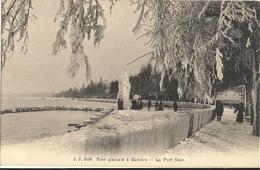 GENEVE Bise Glaciale Au Port Noir 6 - GE Ginevra
