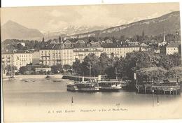 GENEVE -  Promenade Du Lac Et Mont Blanc   10 - GE Ginevra
