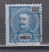 ZAMBEZIE - N°y&T - 23 - 100 R Bleu S:azuré - Carlos - Oblit - Zambèze