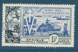 Aof  - Aérien   - Yvert N° 17   OBLITERE  - Ava 16020 - Gebraucht