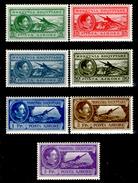 Albania-0138 - 1930: Posta Aerea, Yvert & Tellier N. 29/35 (++) MNH - Privi Di Difetti Occulti - - Albania