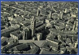 ALBA (Cuneo) - N. 17  PANORAMA E TORRI - Cuneo