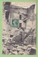 LAMBESC : Quartier Du Castellas, Tremblement De Terre Juin 1909. 2 Scans. - Lambesc