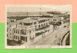 CPA  MAROC  ~  CASABLANCA  ~  359  La Caserne De La Marine  ( L. M  ) - Casablanca