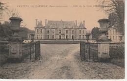76 - DAUBEUF SERVILLE - Château De Daubeuf - Côté De La Cour D'Honneur - Otros Municipios
