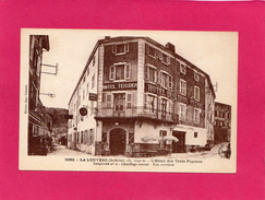 07 ARDECHE, LA LOUVESC, L'Hôtel Des Trois Pigeons, (Margerit-Brémond) - La Louvesc