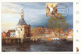 D27317 CARTE MAXIMUM CARD FD 2007 NETHERLANDS - MAIN TOWER CITY OF HOORN - BEAUTIFUL HOLLAND - CP ORIGINAL - Architecture