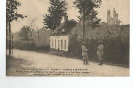 62 Mont Saint Eloi Guerre Europeenne Entrée Du Village Venat De La Route D'Arras - France