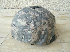 Casque Avec Couvre Casque Camouflage US (propre) - Headpieces, Headdresses