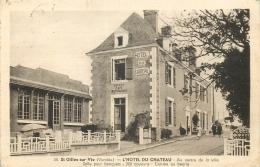 85 Saint Gilles Sur Vie Hotel Du Chateau Animée - Saint Gilles Croix De Vie
