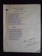 """Les Chansons De Raymond Bartel """"Des Noctambules"""" Dédicacé - Autographes"""