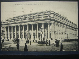 PT. 116. Bordeaux. Le Grand Théâtre - Bordeaux