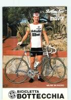 Silvestro MILANI . 2 Scans. Cyclisme. Bottecchia Malvor 1983 - Radsport