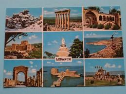 LEBANON - Anno 19?? ( Zie Foto Details ) !! - Liban