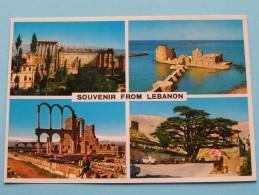 Souvenir From LEBANON - Anno 19?? ( Zie Foto Details ) !! - Liban