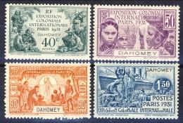 Dahomey 1931 Serie N. 99-102 Expo Coloniale Parigi MLH Catalogo € 33 - Unclassified